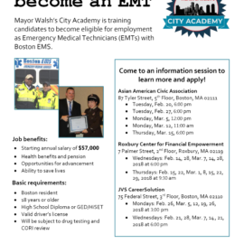 Train to become an EMT