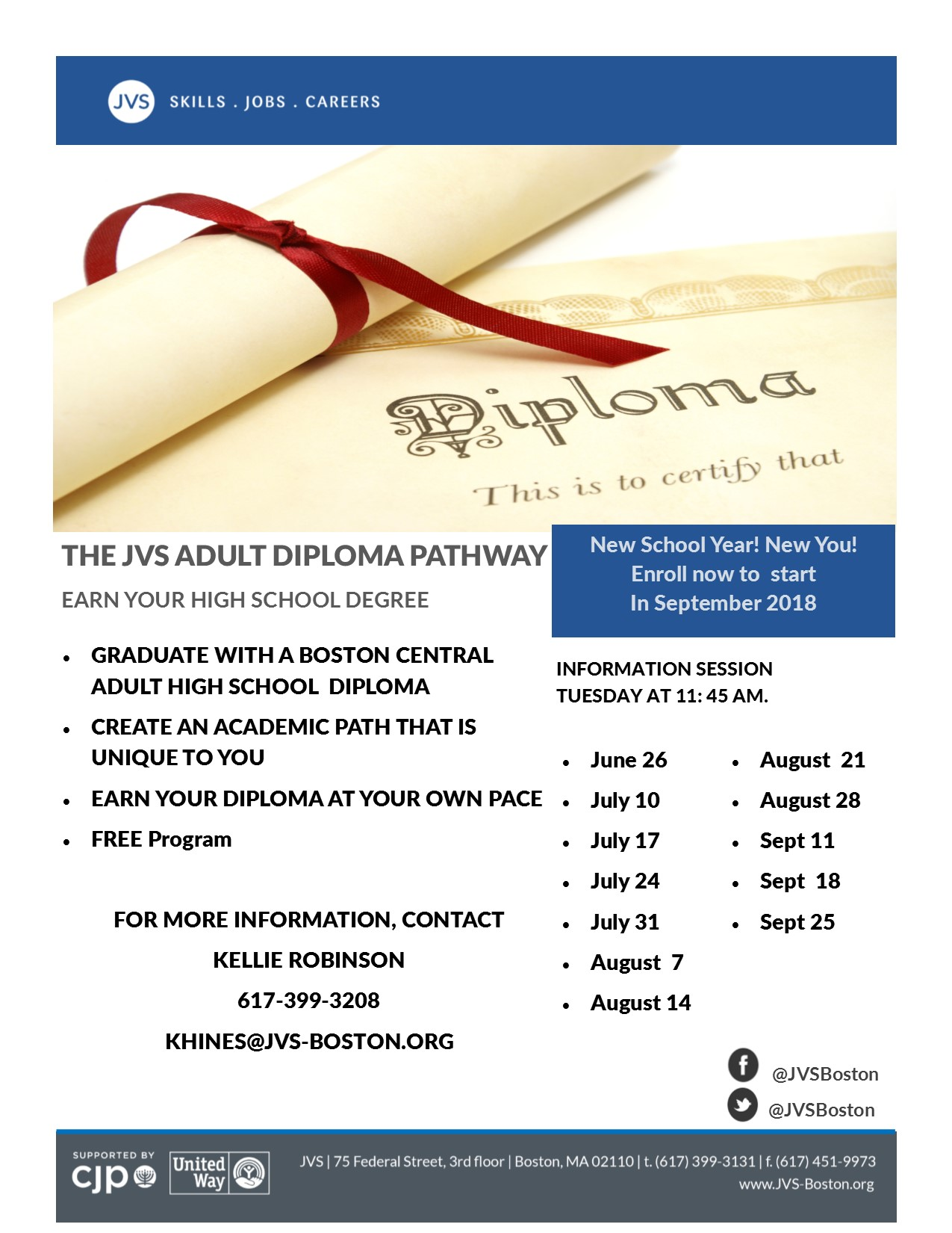 Adult Diploma Program