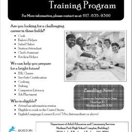 BPS: Culinary Arts Training Program